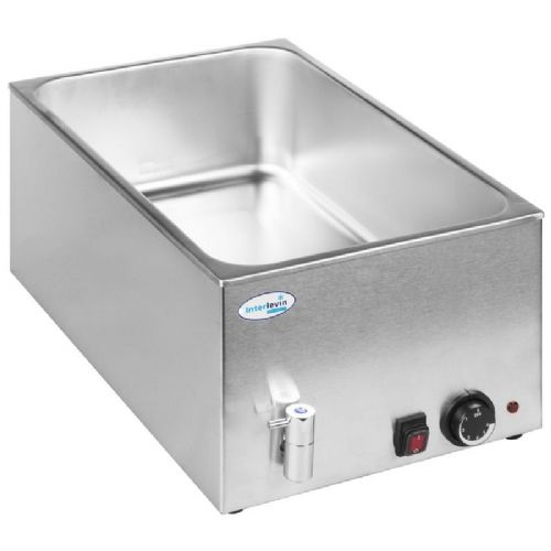 Interlevin BM8710 Bain Marie with Tap (without Pans)